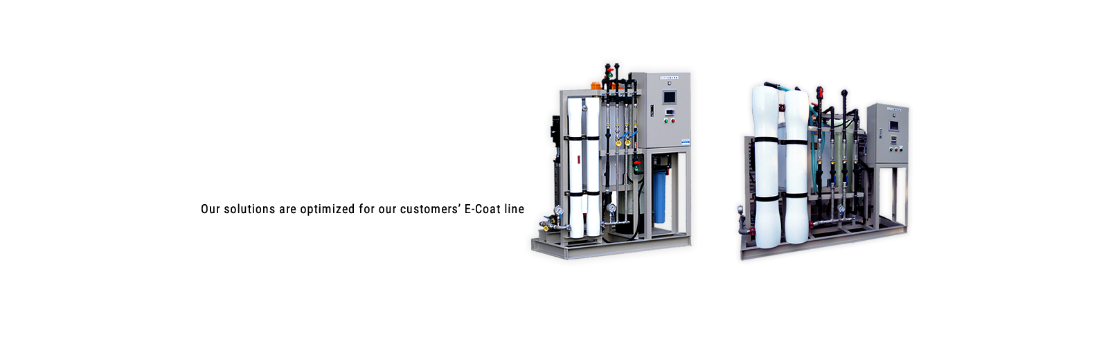 Customized solutions for each customers